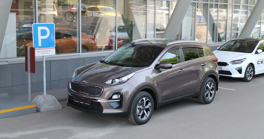 KIA Sportage 2,0 AT (150 лс)