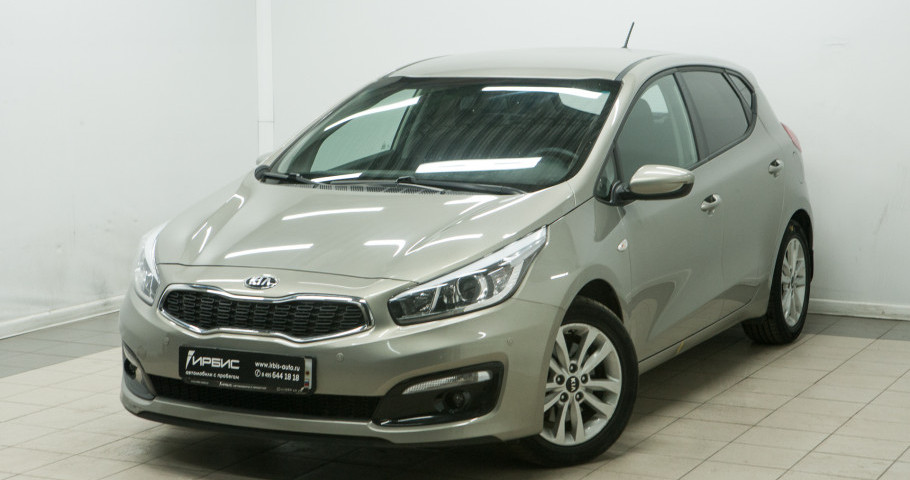 KIA KIA JD ( Cee'd ) 1,6 AT (130 лс)